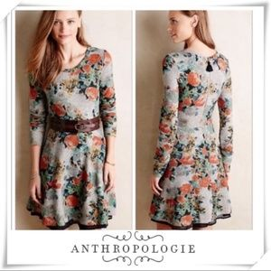 Anthropologie Saturday Sunday Floral Print Dress